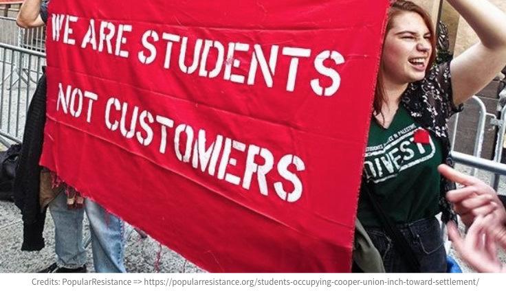 Siamo Studenti, non Clienti