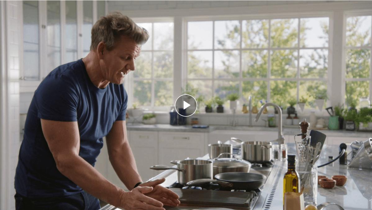 Corso Di Cucina Con Lo Chef Stellato Gordon Ramsay Imparare Le Basi In Inglese Corsidia