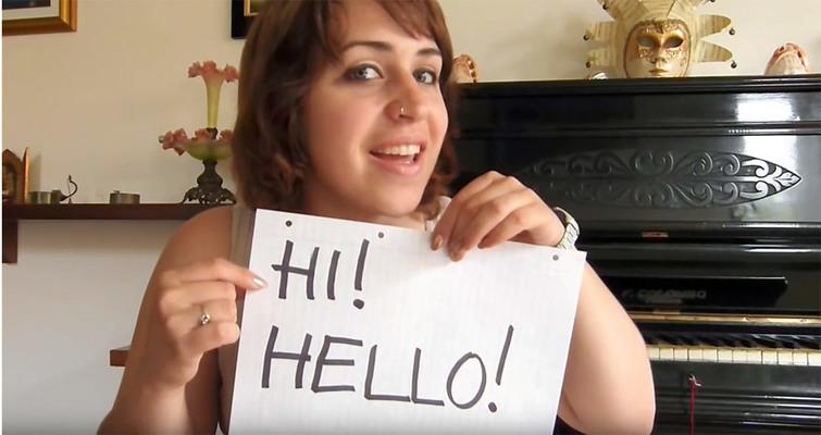 Salutare in Inglese: Imparare l'Inglese con Giulia di School2u