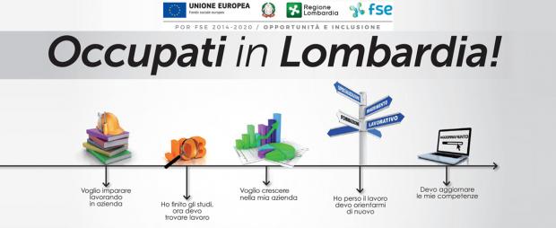 Programma di finanziamento della Regione Lombardia per la formazione e i servizi al lavoro.