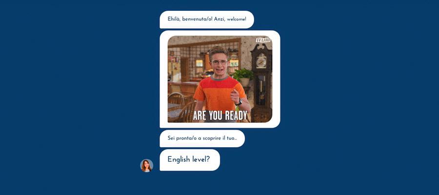 Test livello inglese gratuito 🙋 con Brigitta