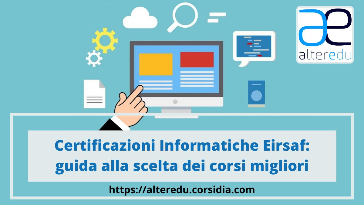 Eirsaf: Certficazioni Informatiche e Corsi @Corsidia
