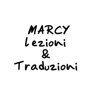 MARCY - Lezioni & Traduzioni  logo