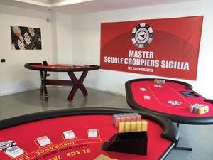 Master Scuola Croupier Caltanissetta logo